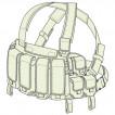 Жилет разгрузочный Пионер М23 олива
