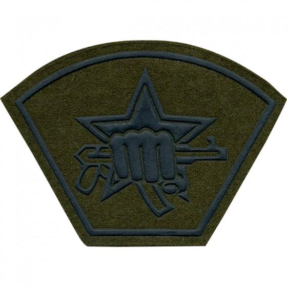 Нашивка на рукав Подразделение специального назначения полевая пластик