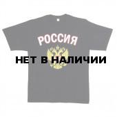 Футболка сувенирная Россия черная