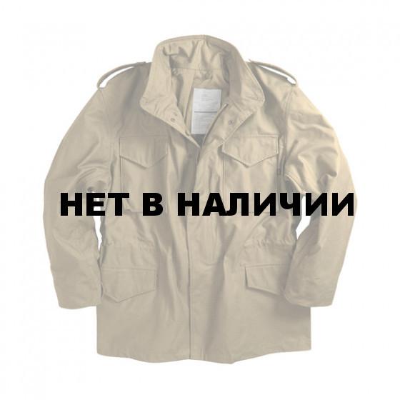 Куртка M-65 Khaki с подстежкой Alpha Industries