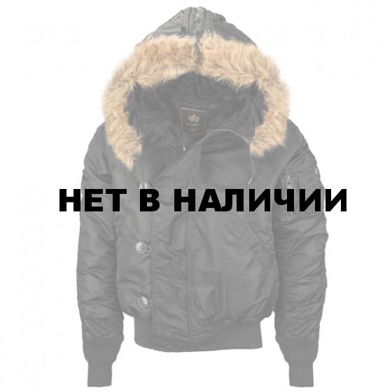 Куртка N-2B Short Waist Parka Chokolate Alpha Industries