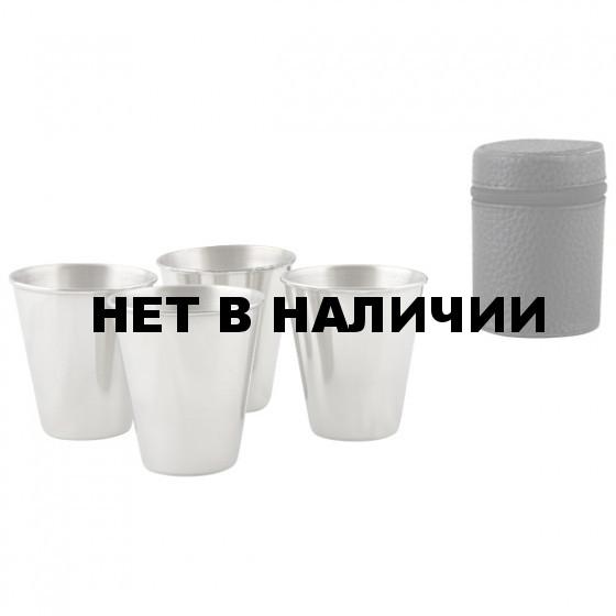 Набор стаканов в чехле(4шт по 90мл)