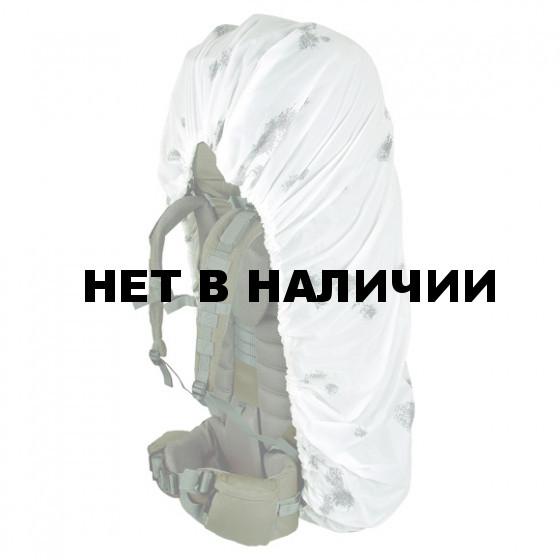 Накидка на рюкзак без швов белый 90-130 л