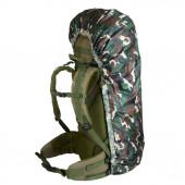 Накидка на рюкзак без швов лес 50-90 л