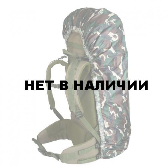 Накидка на рюкзак без швов лес 90-130 л