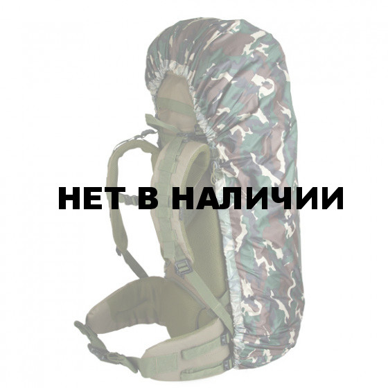 Накидка на рюкзак без швов flecktarn 50-90 л
