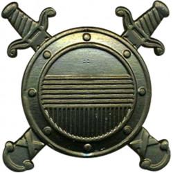 Эмблема петличная Внутренняя служба МВД полевая металл
