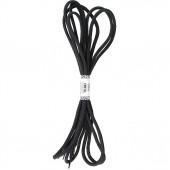 Шнурки (пара) черн/серый