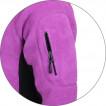 Куртка Kashkar 2-цветная Polartec orhid / black
