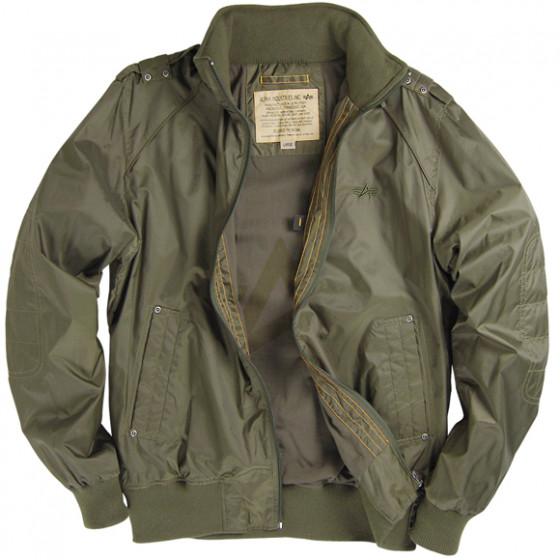 8d92b8e3947 Куртка Hawk Olive Green Alpha Industries