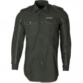 Рубашка Lima Vintage зеленая