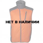 Жилет Ares оранжевый/серый Primaloft