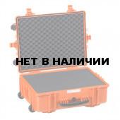 Кейс EXPLORER мод.5823.O оранжевый с поропластом