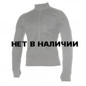 Куртка 3/4 Zip Grid Fleece Pullover Black BLACKHAWK