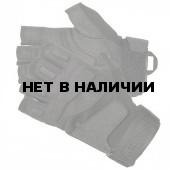 Перчатки S.O.L.A.G. 1/2 Finger BLACKHAWK black