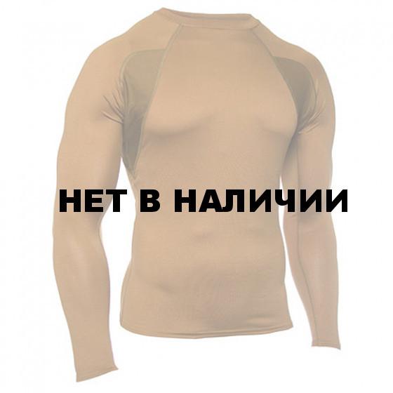 Термобелье футболка EF Shirt Long Sleeve Crew Neck Coyote Tan Blackhawk