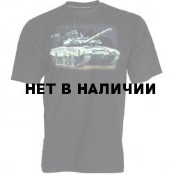 Футболка сувенирная Т-90 черная