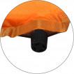 Коврик самонадувающийся Surfing mini 2.5 (оранжевый) (122х51х2,5)