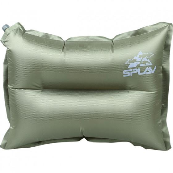 Подушка самонадувная (олива)