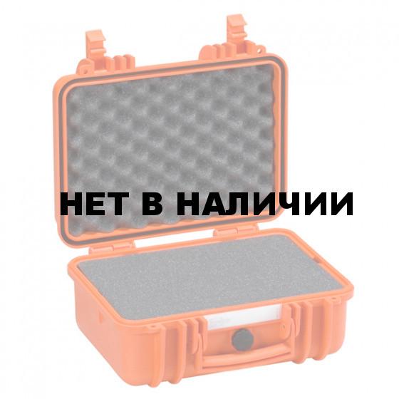 Кейс EXPLORER мод.3317.O оранжевый с поропластом