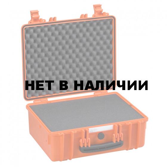 Кейс EXPLORER мод.4419.O оранжевый с поропластом