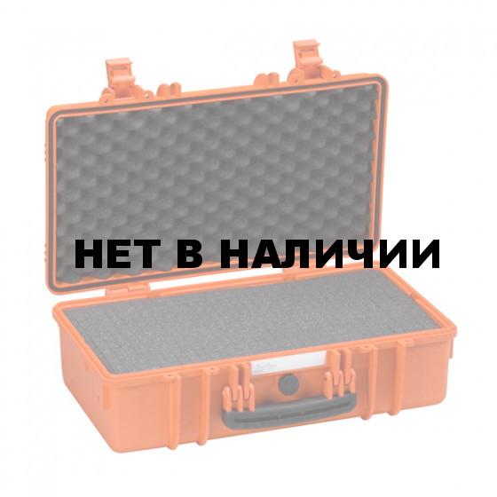Кейс EXPLORER мод.5117.O оранжевый с поропластом