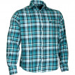Рубашка фланелевая Check синяя клетка