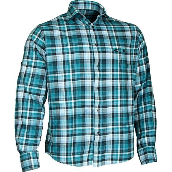 293b4dc4646 Рубашка фланелевая Check черная клетка