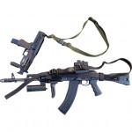 Ремень тактический оружейный черный Долг-М2