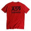 Футболка Fiftynine Tee Scarlet Red Alpha Industries