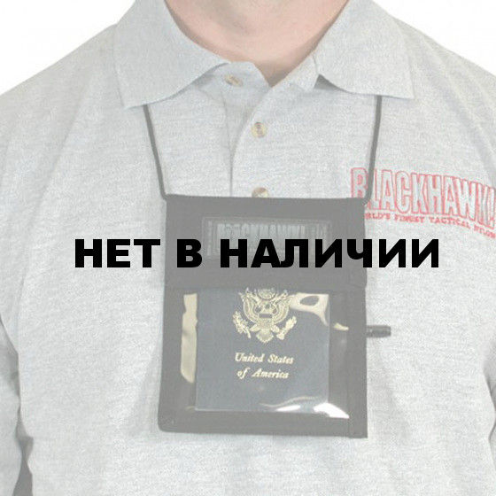 Бейдж Neck ID-Bage/Pen Holder BLACKHAWK black