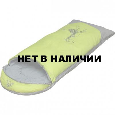 Спальный мешок детский Zoo 200 зеленый