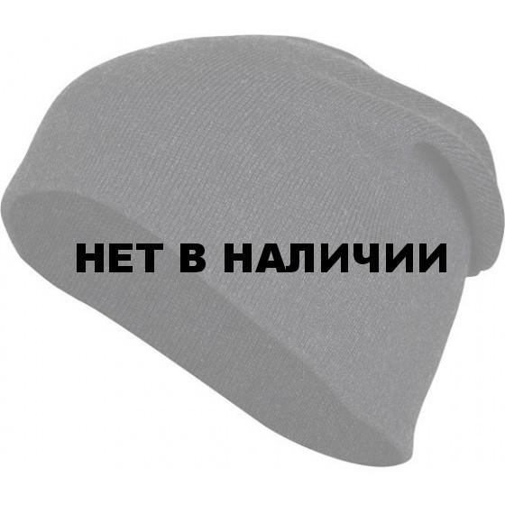 Шапка полушерстяная антрацит арт.85