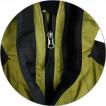 Куртка Druft олива / черный мембрана Event
