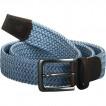 Ремень эластичный (мультиразмерный) blue/azure