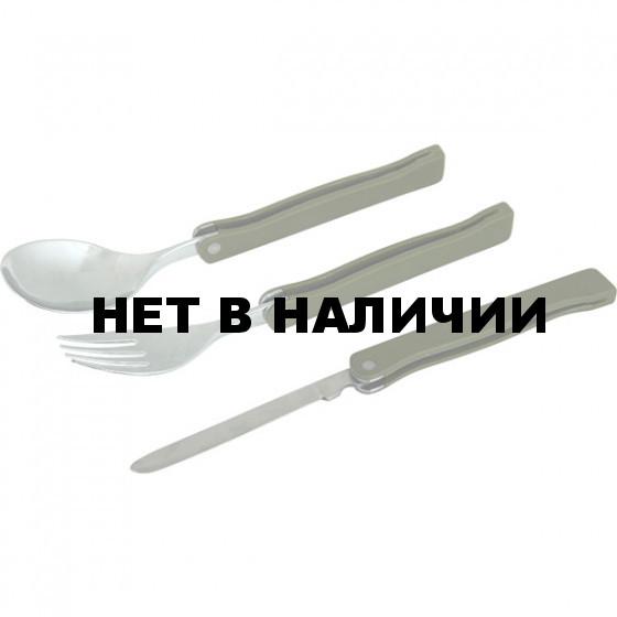 Набор столовых приборов Тактик (складной, металлический) Track