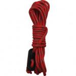 Шнур 4х3 м красный светоотражающий