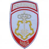 Нашивка на рукав Полиция Вневедомственная охрана МВД России на рубашку