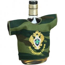 Рубашка-сувенир Пограничная служба камуфлированная вышивка