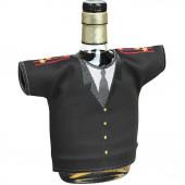 Рубашка-сувенир Настоящий полковник серая вышивка