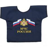Рубашка-сувенир МЧС России вышивка