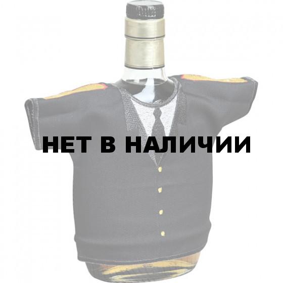Рубашка-сувенир Настоящий генерал серая вышивка