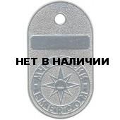 Жетон МЧС России EMERCOM металл