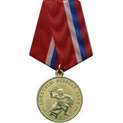 Медаль Любителю русской бани мужчинам металл