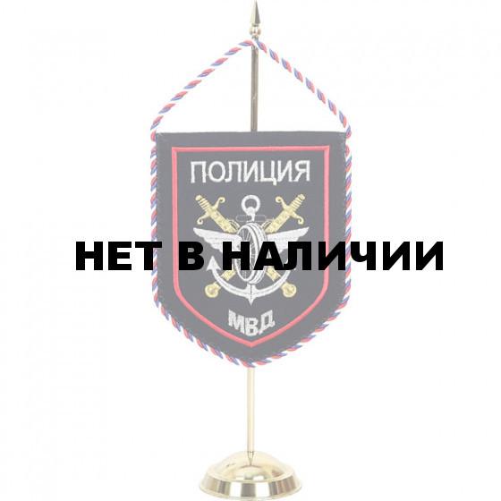 Вымпел Полиция Подразделения ВД на транспорте МВД России вышивка