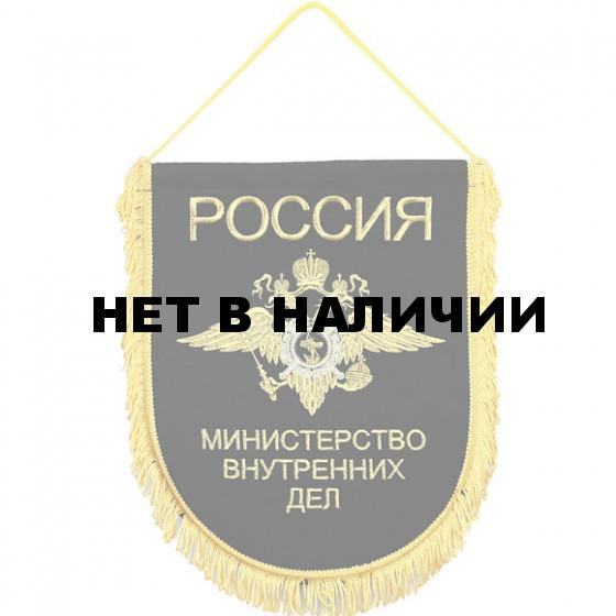 Вымпел ВБ-17 Россия МВД вышивка