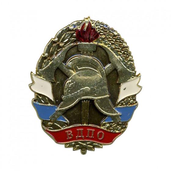 Кокарда ВДПО металл