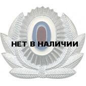 Кокарда МВД на фуражку серебро металл
