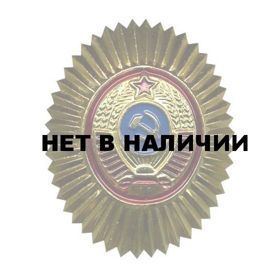 Кокарда Милиция СССР металл