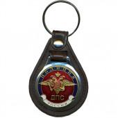 Брелок Россия Полиция ДПС на подложке